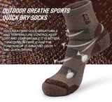 Outdoor Supportive Ankle Socks For Men, Hiking-Climbing-Cycling