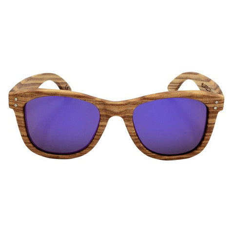 Custom Bamboo Frame Polarized Sunglasses Vintage Style at ShopitWow.com