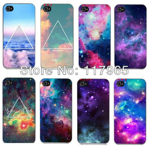 Space Travel Hard Plastic Phone Case Cover For Apple iPhone 4, 4S, 5, 5S from ShopitWow.com