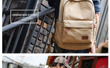 College Retro Premium Canvas Backpack Bags With USB Port New Low Price! at ShopitWow.com
