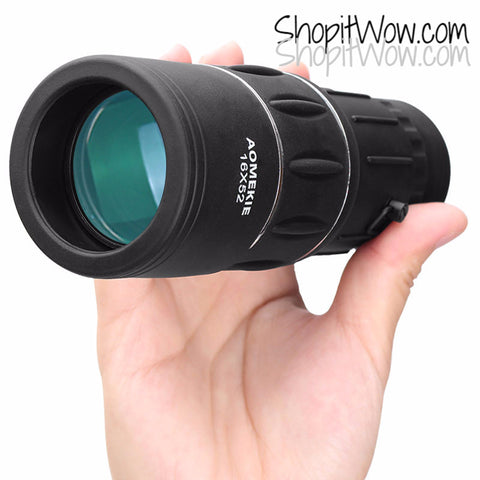 Monocular Spotting Scope,16x52 Sportsmans Gear Hunting Gear HD High Power Lens at ShopitWow.com