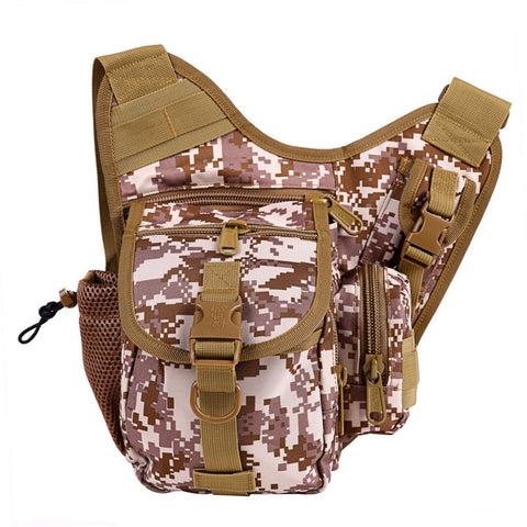 Outdoor Camouflage Sport Fishing Bags Traveling-Hiking-Cycling at ShopitWow.com