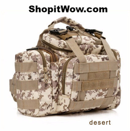 Outdoor Fishing Tackle and Hunting Bags Heavy Duty Canvas from ShopitWow.com