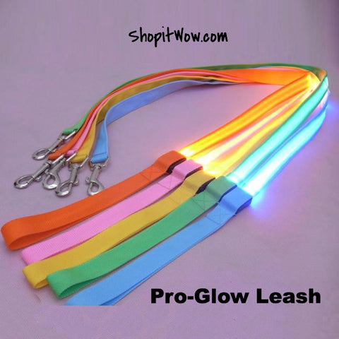 Dog Leash With LED Glowing Light - ShopitWow Store
