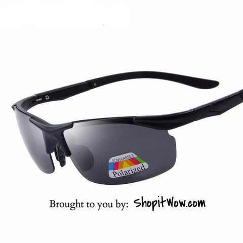 Mens Sport Sunglasses 100% Polarized, Driving, Hiking, Cycling Eyewear - ShopitWow Store