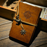 Vintage Pirate Anchors Leather Traveler Journal from ShopitWow.com