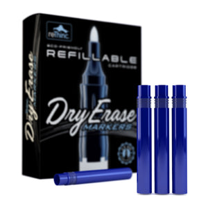 8 Blue Ink Refills for ReThinc Dry Erase Markers