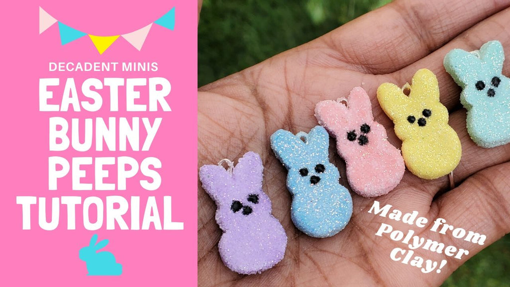 Scented Easter Bunny Peeps Tutorial