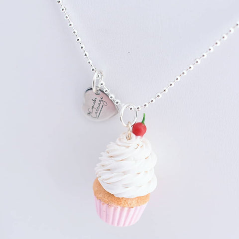 custom cupcake necklace