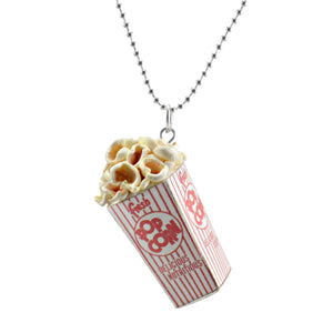 Scented Popcorn Charm Necklace (wholesale)