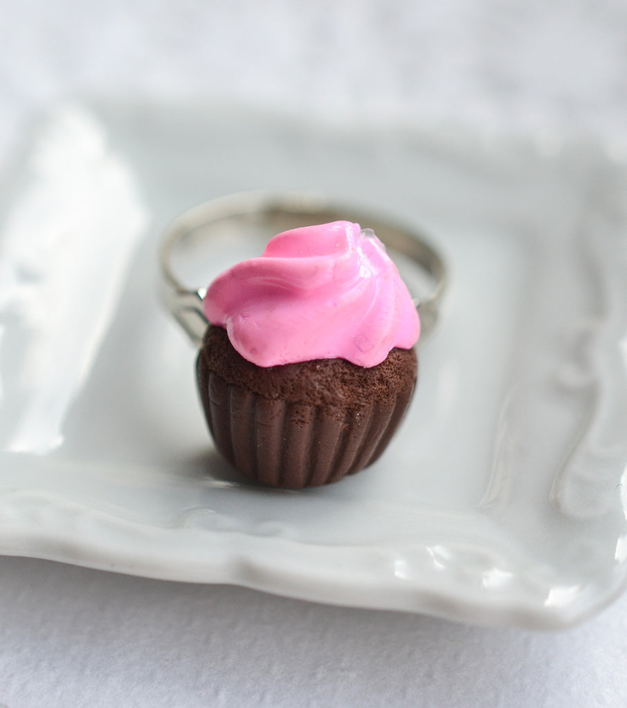 Strawberry Scented Cupcake Ring
