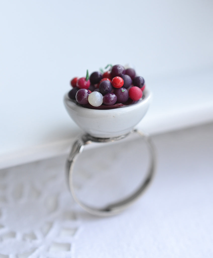 Scented Bowl of Cherries Ring