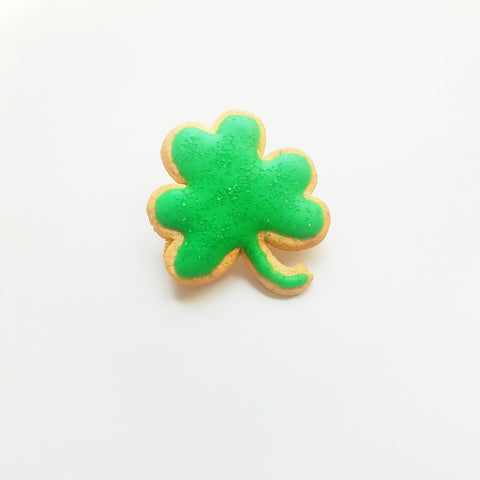 Scented Lucky Shamrock Sugar Cookie Pin