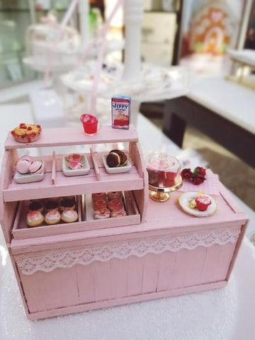 1:12  Deluxe Shabby Chic Bakery Counter With Scented Bakery Treats
