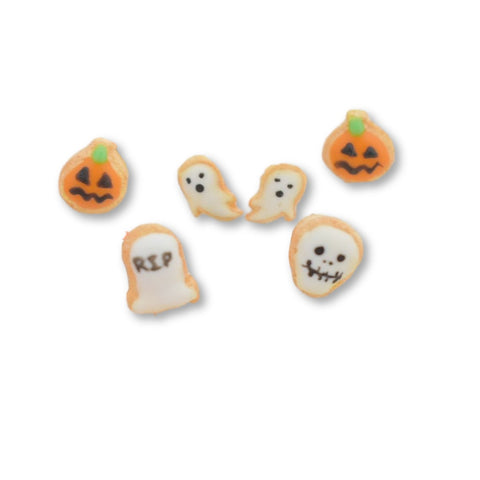 Scented Halloween Ghost Sugar Cookie Earrings