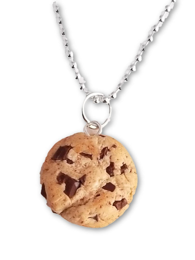 Scented Chocolate Chip Cookie Necklace (wholesale) 1