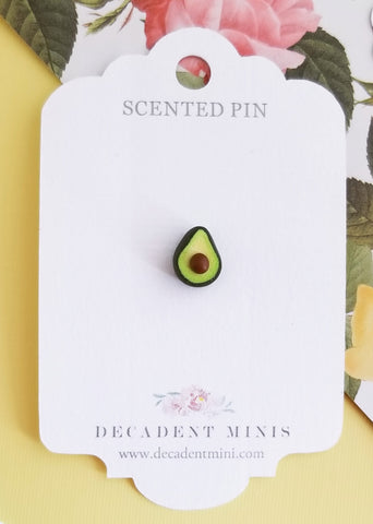 Scented Avocado Pin