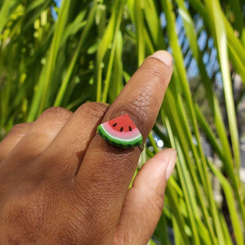 Scented Watermelon Slice Ring
