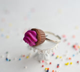 Cupcake Ring Grape Scented