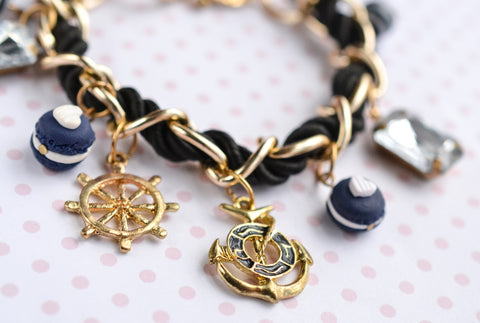 Nautical Sweets Charm Bracelet