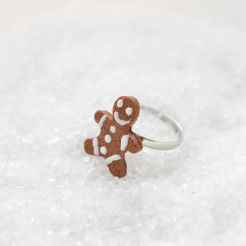 Scented Gingerbread Man Ring