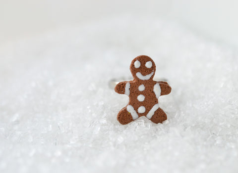 SALE Scented Gingerbread Man Ring
