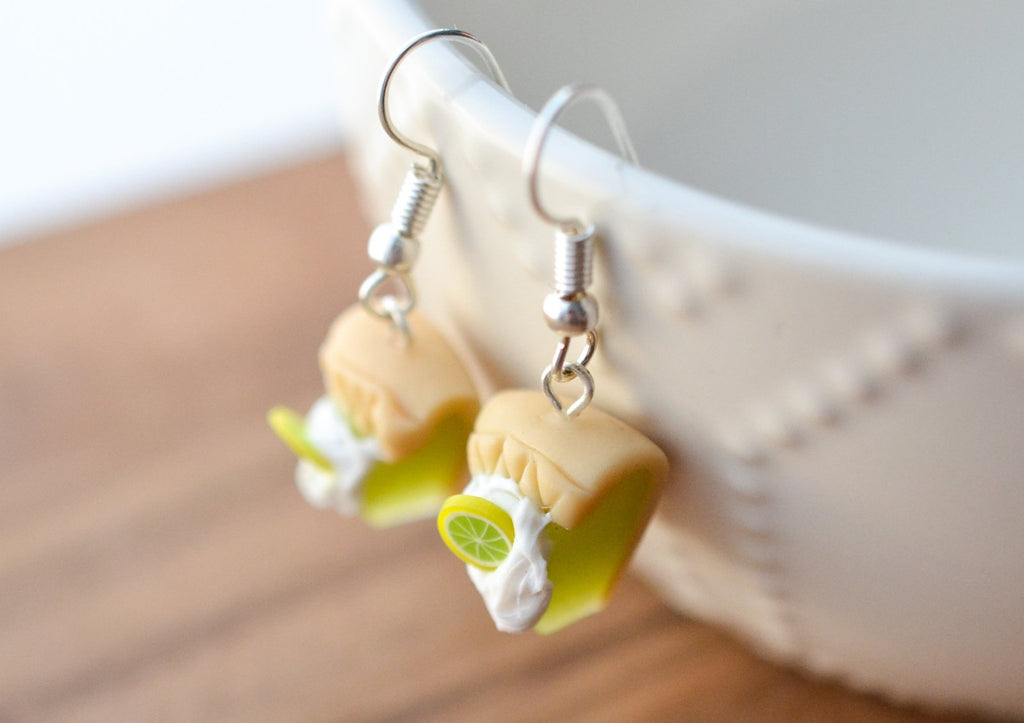Scented Key Lime Pie Earrings