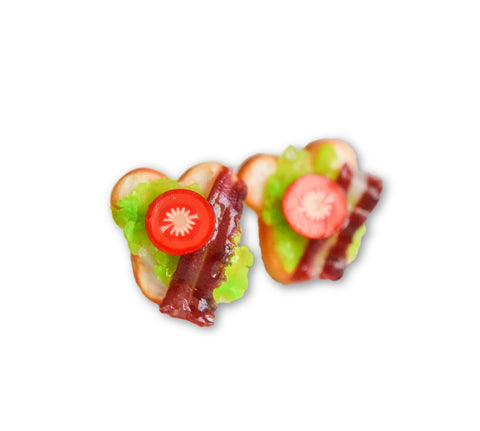 Scented BLT Sandwich Earrings