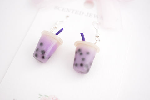 Scented Boba Tea Earrings