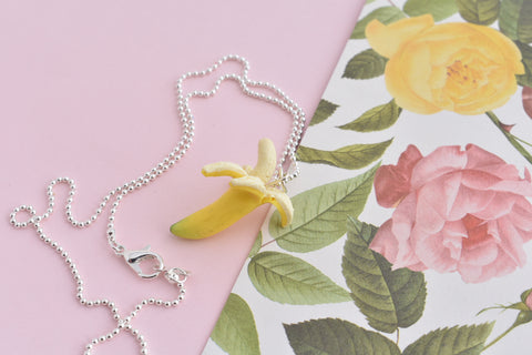 Scented Banana Necklace