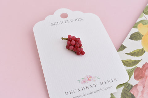 Scented Grape Pin (wholesale)