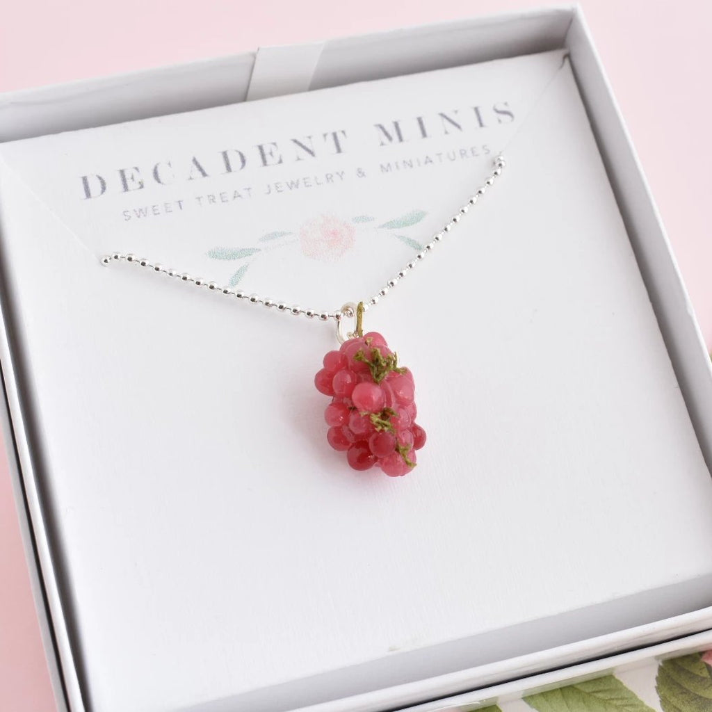 Scented Grape Necklace