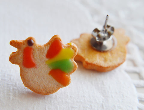 Fall Turkey Sugar Cookie Earrings