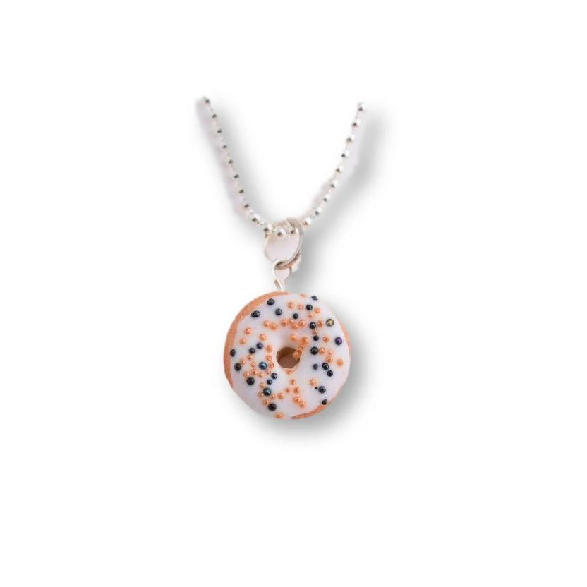 Scented Halloween Funfetti Donut Necklace