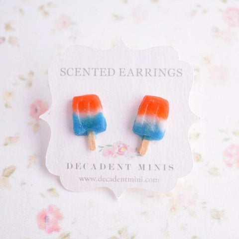 Scented Bomb Popsicle Stud Earrings