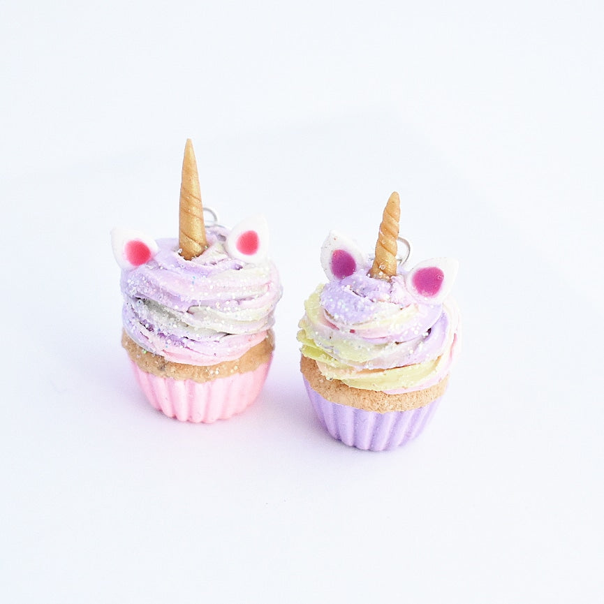 Scented BFF Unicorn Cupcake Charm set