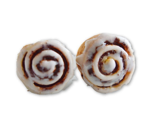 Scented Cinnamon Roll Earrings (Wholesale)