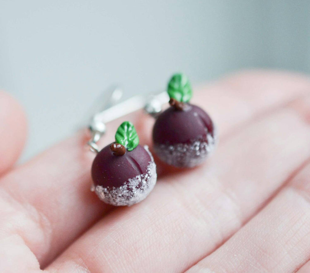 Scented Sugar Plum Earrings