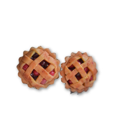 Old fashioned Cherry Pie earrings