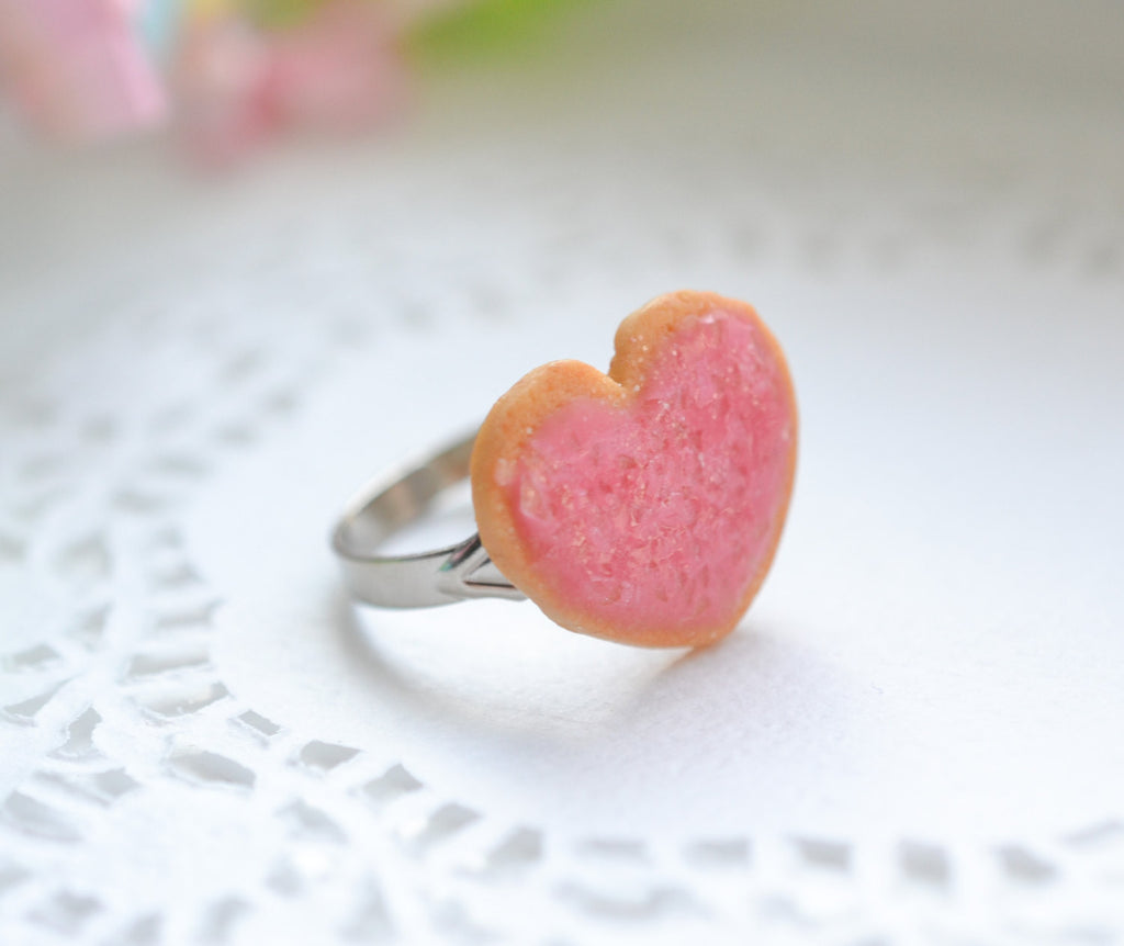 Scented Pink Sugar Cookie Ring