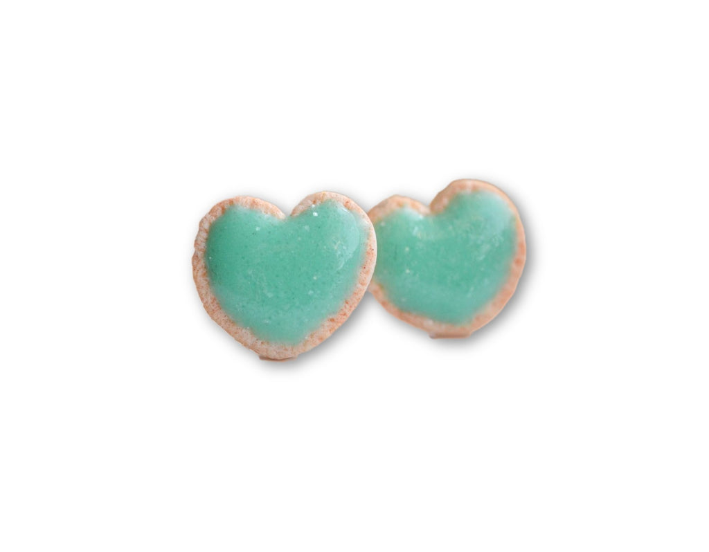Scented Mint Sugar Cookie Earrings