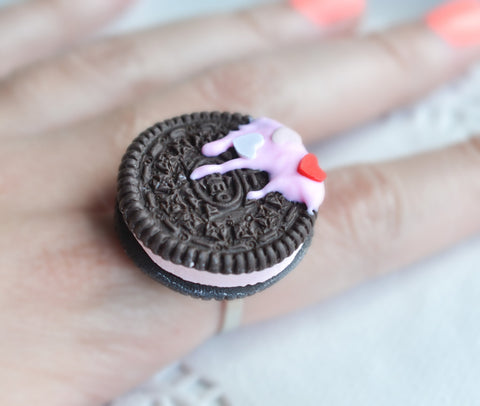 Scented Oreo Cookie Ring