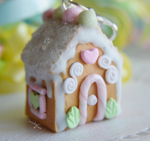 Scented Sugar Cookie House Charm Ornament