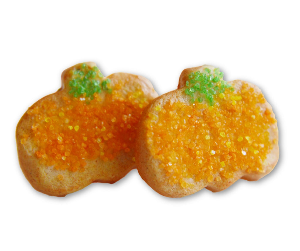 Scented Pumpkin Sugar Cookie Earrings