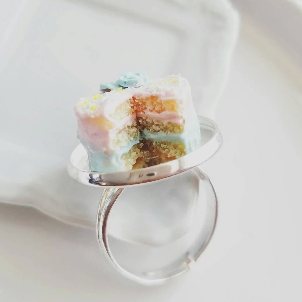Scented Spring Ombre Cake Ring