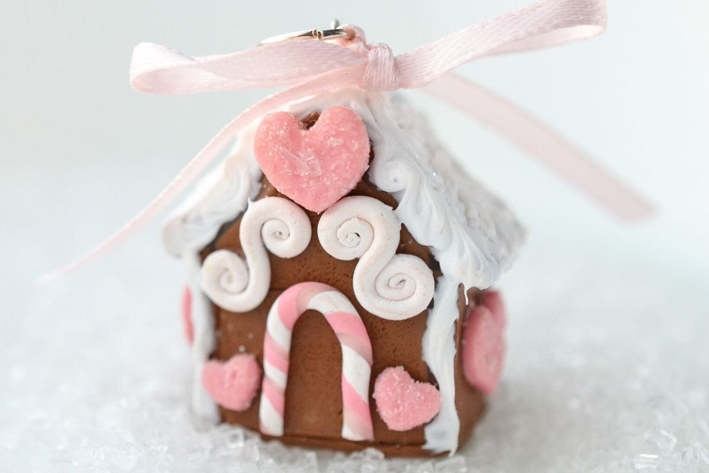 Scented Mini Gingerbread House Ornament (wholesale)