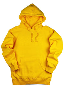 3D STATEMENT HOODIE (MAIZE)
