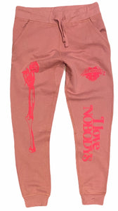 NO LOVE LOST JOGGERS (ROSE)