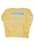 PASTEL LIVING CREW NECK (CANARY)