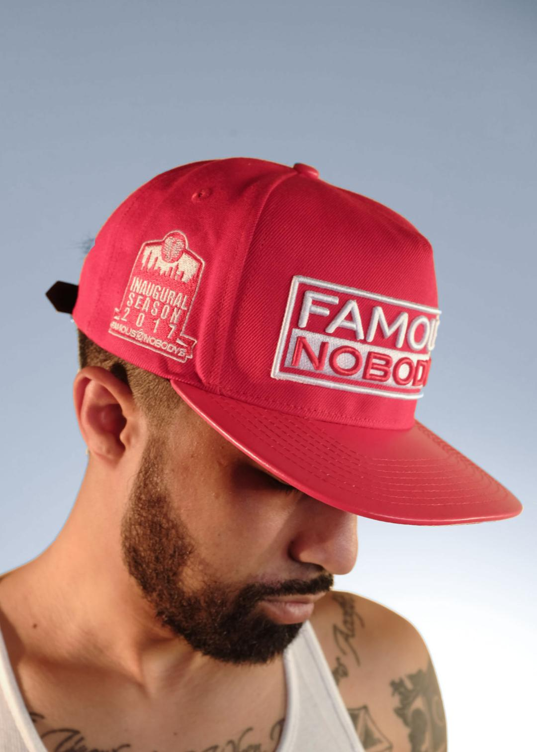 STATEMENT STRAPBACK (ROJO)